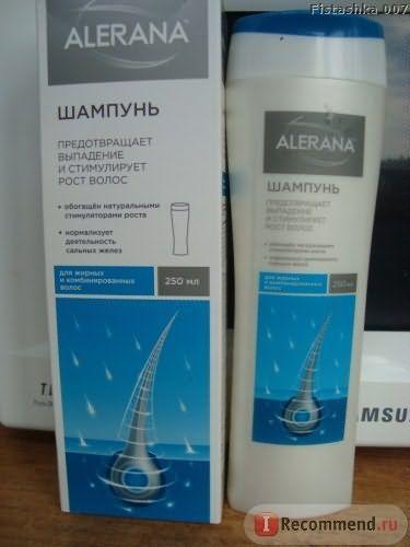 Шампунь Alerana для жирних і комбінованих волосся фото