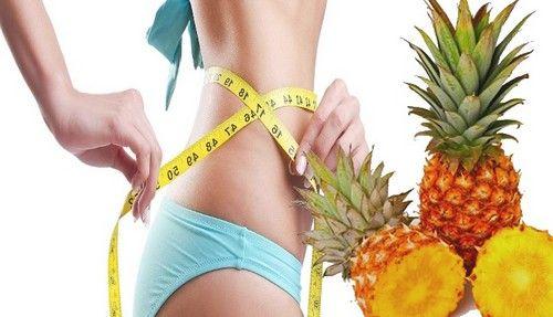 Ананасова дієта на горілці для схуднення