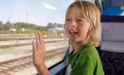 Квиток на дитину в поїзді