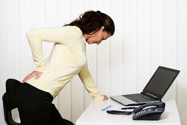 Болі в спині, причина і профілактика