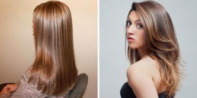 Брондірованіе на довге волосся