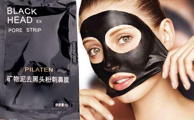 Чорна маска від чорних крапок: блек маска