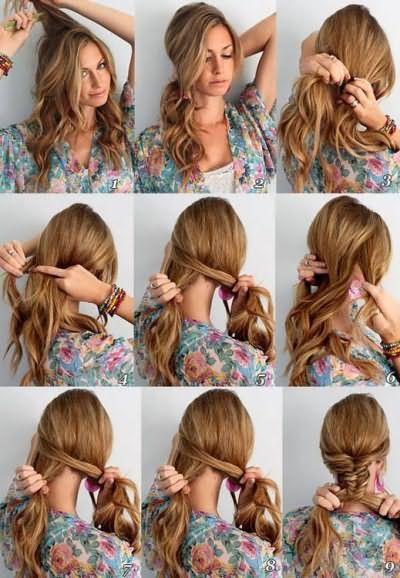 Що можна заплести на довге волосся