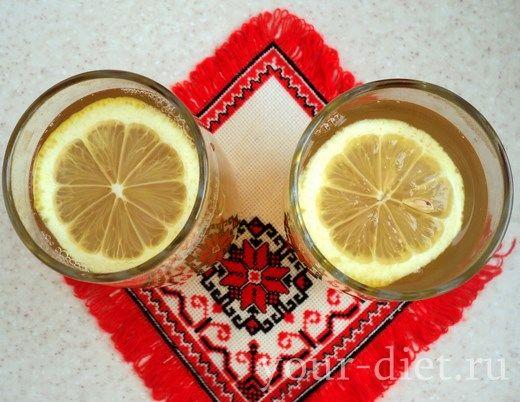 Дієта на зеленому чаї з імбиром