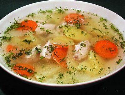 Дієтичний суп для схуднення рецепт