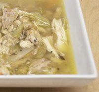 Дієтичний суп з курки