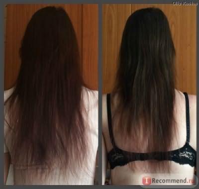 Филировка кінчиків волосся фото