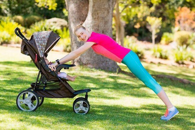 Фітнес для мами і малюка