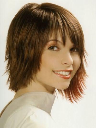 Французька стрижка на коротке волосся фото