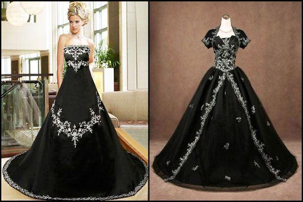 Готичне весільну сукню