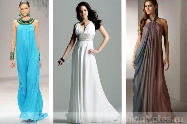 Грецьке вечірню сукню: особливості грецького сукні