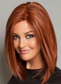 красиві стрижки на середні волосся без чубчика 3
