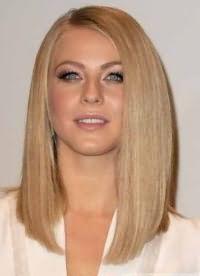красиві стрижки на середні волосся без чубчика 7