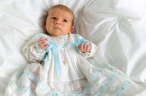 Історія хрестильної одягу для дітей