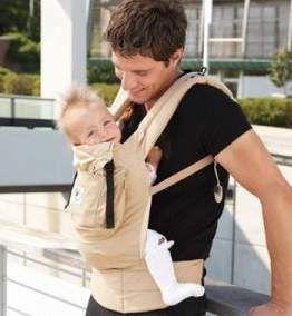 Ерго рюкзак - перенесення для новонароджених