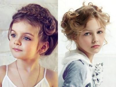 Нарядні зачіски для дівчаток на довге волосся