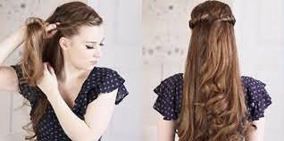 Зачіски на довге розпущене волосся фото