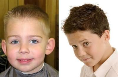 Дитяча зачіска бобрик