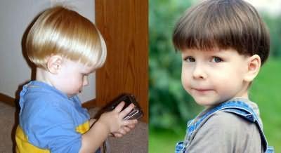 Шапочка - варіація зачіски під горщик