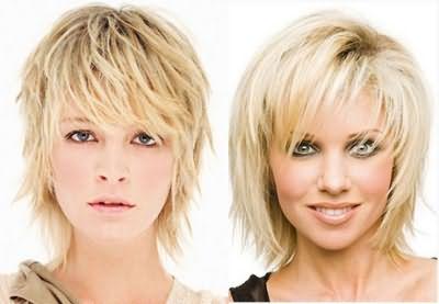 «Драбинка» користується популярністю у натуральних блондинок з тонкими, слухняними локонами