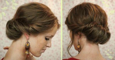 Зробити зачіску самій собі на довге волосся