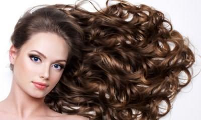 Кудрі праскою на довге волосся