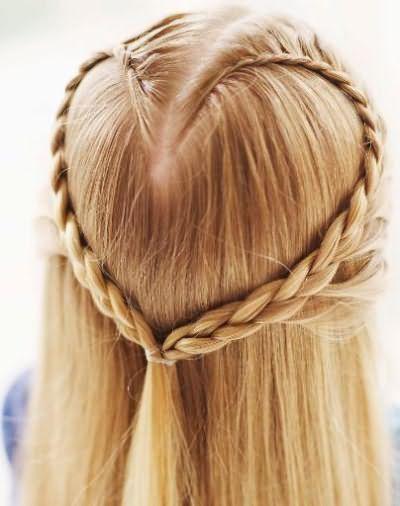 швидкі зачіски в школу