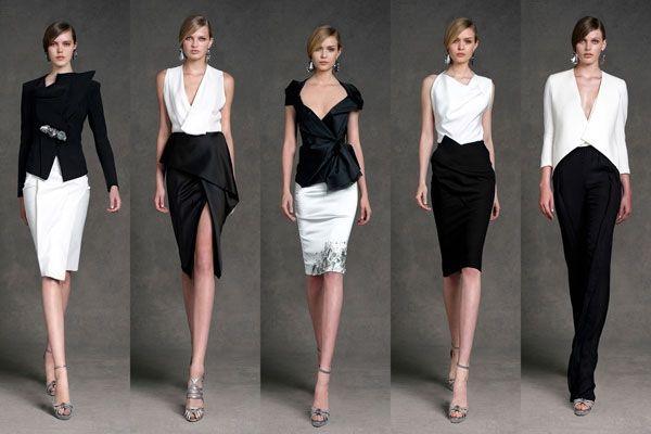Класичні кольори в одязі: білий, чорний, бежевий
