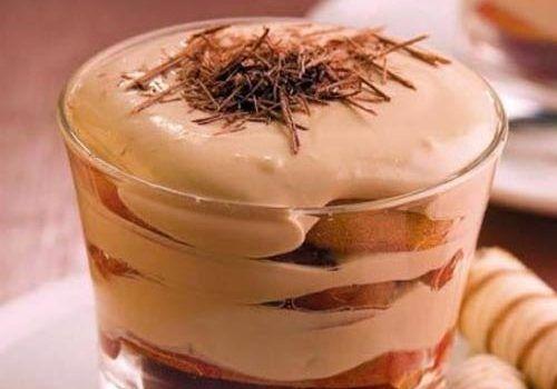 Кавово-сирний десерт