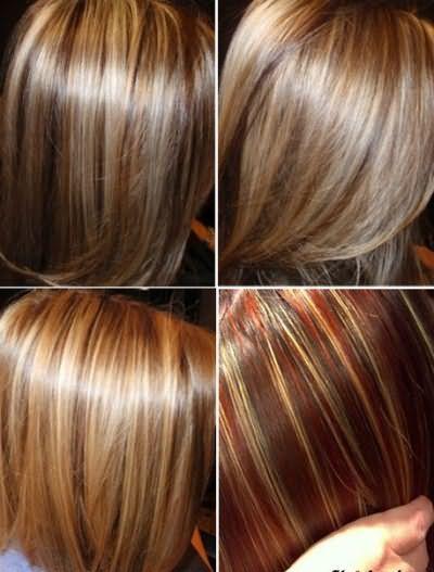 Колорування волосся фото на темних довгому волоссі