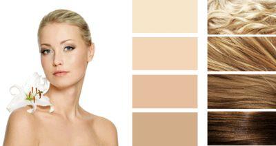 Колір волосся для цветотипа весна.