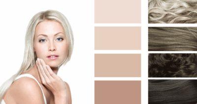 Колір волосся для цветотипа літо.
