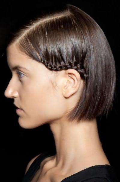 косички на коротке волосся фото
