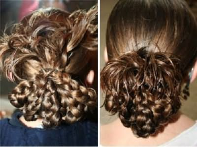 Коси для дівчаток на довге волосся фото