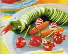 Оформляємо дитячі страви