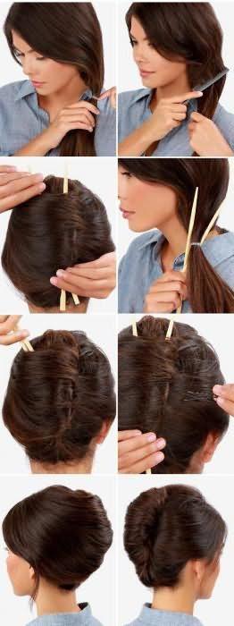 легкі зачіски поетапно