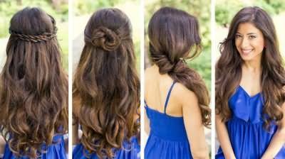 зробити зачіску на довге волосся
