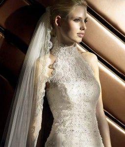 Мереживні весільні сукні