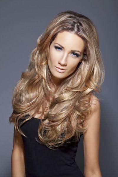 Красиві локони на довге волосся фото
