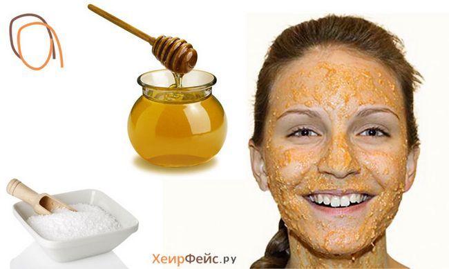 Маска для обличчя з меду і солі: домашній догляд за шкірою обличчя