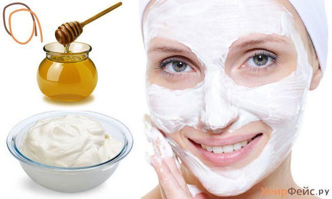 Маска для обличчя з сметани і меду: молодість шкіри