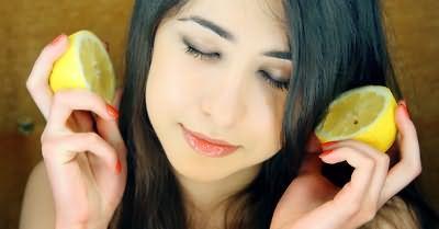 Маски з лимоном для зміцнення і блиску волосся