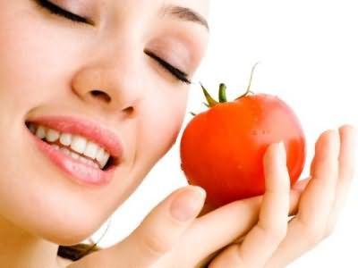 Маска з помідорів для волосся