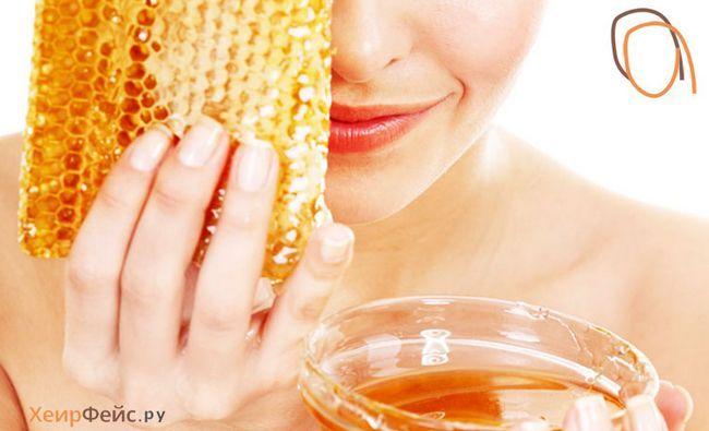 Маски для обличчя з меду проти зморшок