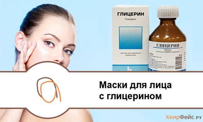 Маски для обличчя з гліцерином