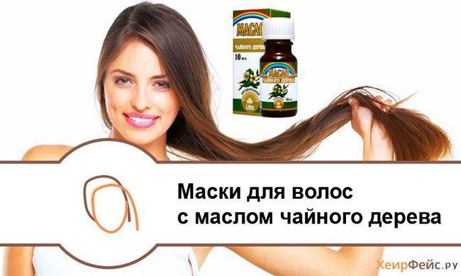 Маски для волосся з маслом чайного дерева