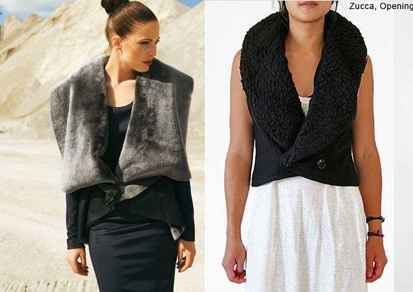 Жилети із модні в 2017: на фото моделі з лисиці, чорнобурки, норки