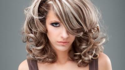 Мелірування на довге волосся фото