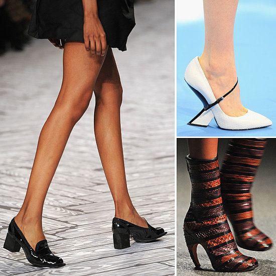 Модне жіноче взуття на восени 2013