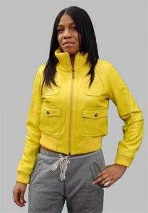 Модна верхній жіночий одяг зі шкіри